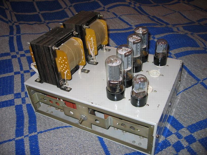 Однотактный ламповый усилитель на 6П3С